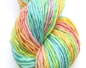 Handspun merino wool, worsted weight  - 80 yards, 1.4 ounce, 40 grams