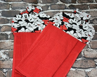 Minnie Mouse Inspired Kitchen Towel Set