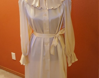 Wonderful Cream Shirt Dress by Distinctly Evelyn Pearson