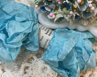 Shabby Maya Blue Seam Binding Trim