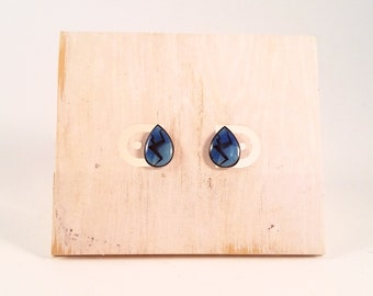 steven universe earrings steven universe lapis lazuli gem stud earrings 370