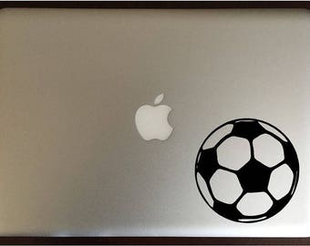 Soccer Ball Computer Decal Laptop Sticker
