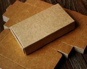 25 pcs - Kraft Box - Wedding Favor Box - Gift Paper Box - Gift Box - Kraft Box - Product Packaging - 25pcs - Ready to Ship.