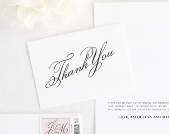 Vintage Romance Thank You Cards