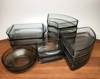 1 Digsmed Holmegaard Glass Replacement Dish - pick one - for lazy susan & tray