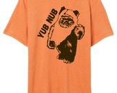 "Star Wars Shirt Ewok Shirt ""yub nub"" Fan Ewok shirt - Unisex Star Wars Shirt"