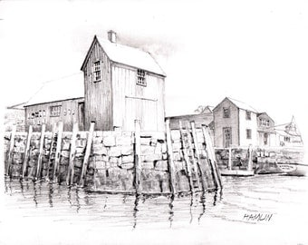 Motif #1 - Open edition print of an original drawing