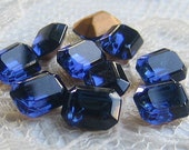 RESERVED FOR M 8x6 mm Swarovski Montana Blue Octagon Glass Rhinestone Quantity 77