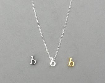 Initial b Necklaces