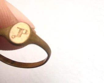 Antique Infant Gold Fill Ring