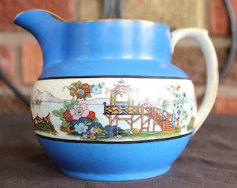 Vintage English Ceramic Cream Pitcher