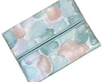 Travel Tissue Holder, Personal Tissue Pack, Pastel , Pocket Tissue Pouch, Pocket Tissue Case