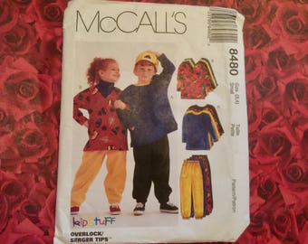 80's Vintage Child Sewing Pattern