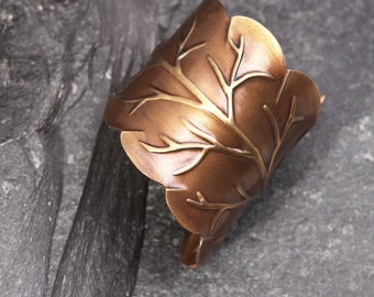 Leaf Ring Nature Inspired Ring Woodland Ring