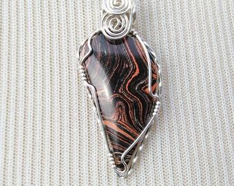 Vintage Mineralite Pendant