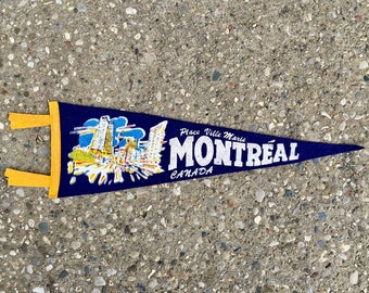 Vintage Montreal Pennant