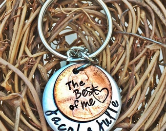 The Best of Me Penny Keychain or Necklace
