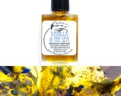 Pre order - Vanilla & The Sea ~ A Blooming Oceanic Amber - pure natural perfume ~ 5 ml
