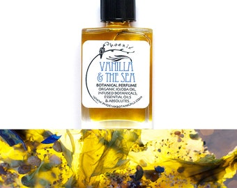 Vanilla & The Sea ~ A Blooming Oceanic Amber - pure natural perfume ~ 5 ml