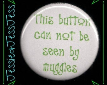 Harry Potter Muggle Button