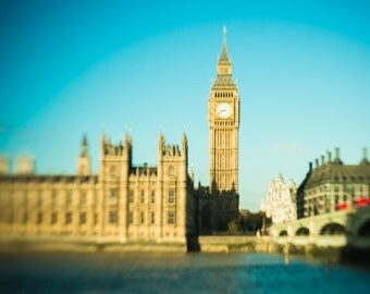 London Photography, Big Ben Photo, England, Europe, wall art, Cityscape, Travel, Urban Landscape, Westminster, Anglophile, Wanderlust Print