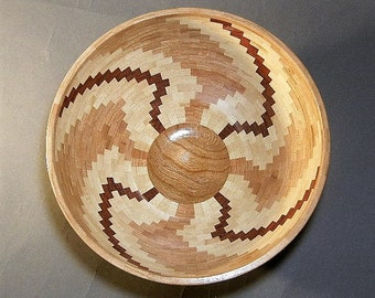 Wood Segmented Bowl  - B 285
