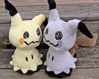 Shiny Mimikyu Pokemon Plush Handmade Fan Art Doll