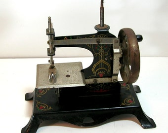 Antique Child's Sewing Machine, Made in Germany