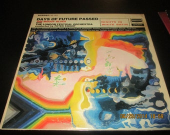 Moody Blues VG++ vinyl - Days of future Passed - Vintage Record lp in VG++ - Condition.