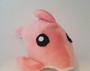 Pink Dolphin Plush