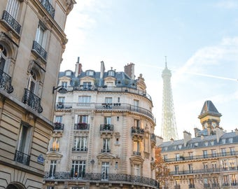 Unexpected Eiffel Tower - Paris, France Fine Art Travel Photography Print