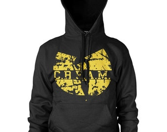 Wu tang Clan  Hoodie. Cash Rules Everything Around Me Zipper or Pullover Hood