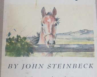 ON SALE John Steinbeck THE Red Pony 1945 1st Edition Illustrated by Wesley Dennis