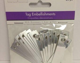 Foil Tag Embellishments