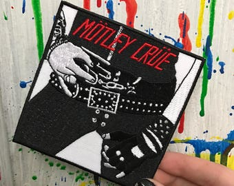 MOTLEY CRUE original patch