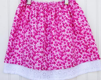Double Layer Skirt - Pretty In Pink (M)
