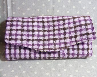 NCW Cloth Tweed Wallet