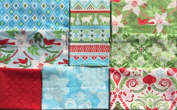 Flurry Kate Spain 8 FQ set moda fabric oop htf