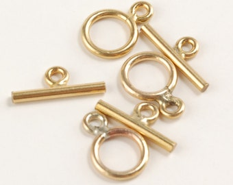 14k Gold Filled Small Toggle Clasp