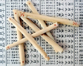 Primitive Mahjong Counting Sticks