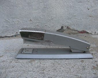bostitch stapler desktop stapler mid century office urban industrial vintage office
