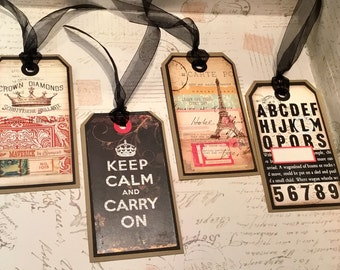 Keep Calm and Carry On Gift Tags