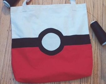 Pokemon tote bag| book bag| market bag