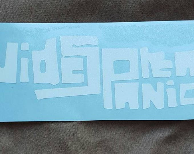 Widespread Panic Jam Band Sticker Vinyl Graphic Decal