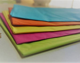Coloured Tissue Paper ~ Choose from 5 Colours ~ *Gift Wrap *Pom Poms *Decorations