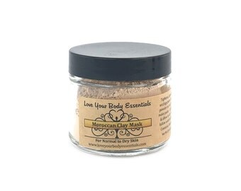 Moroccan clay, clay mask, facial mask , face mask, dry skin, sensitive skin mask, skin exfolator, skin care, rassoul clay, facial care,