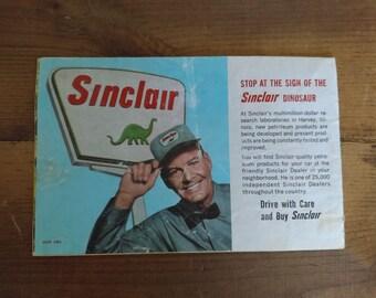 Sinclair Dinoland Booklet 1964-65 World's Fair