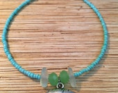 Turquoise Manatee Anklet