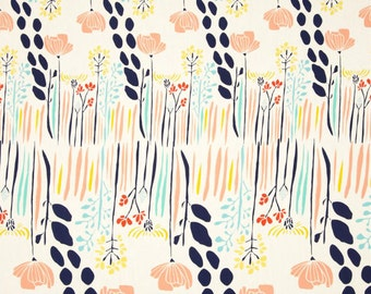 Coral Crib Sheet, Girl Crib Bedding, Boho Floral Crib Sheet, Flower Crib Sheet, Nursery Bedding, Teal and Lime Green Sheet