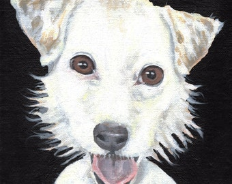 Custom Pet Portraits Made To Order Painting Art